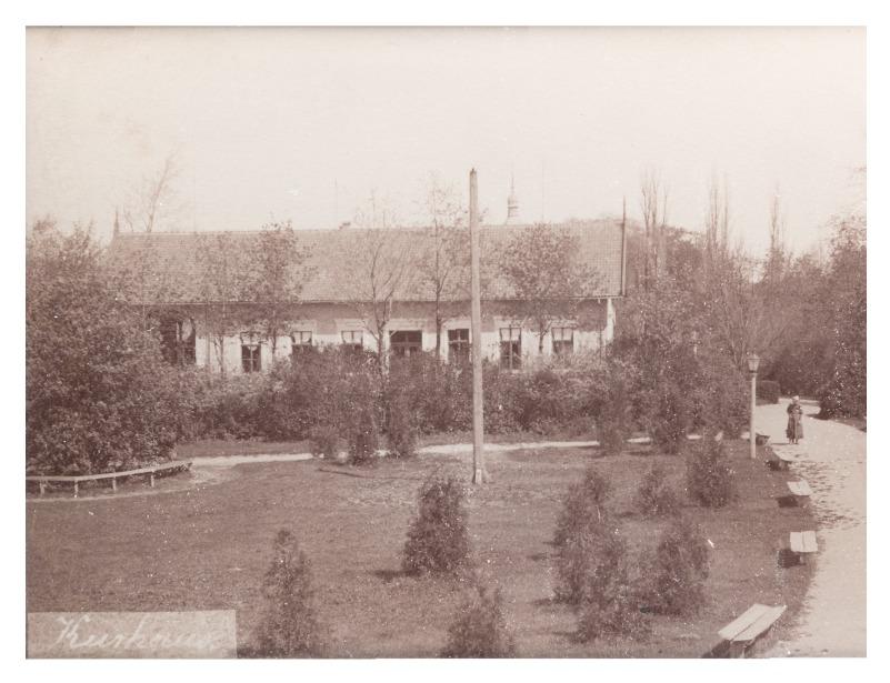 Kurhaus in Palanga, 1889