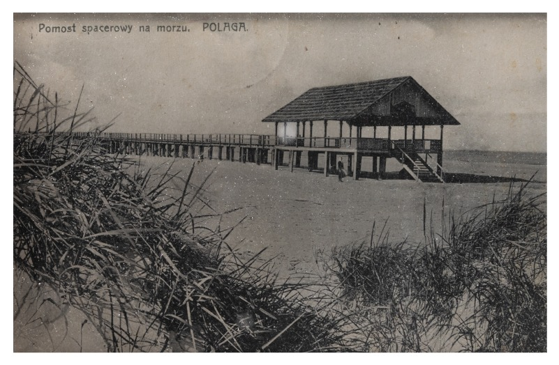 The Pier of Palanga, c. 1907