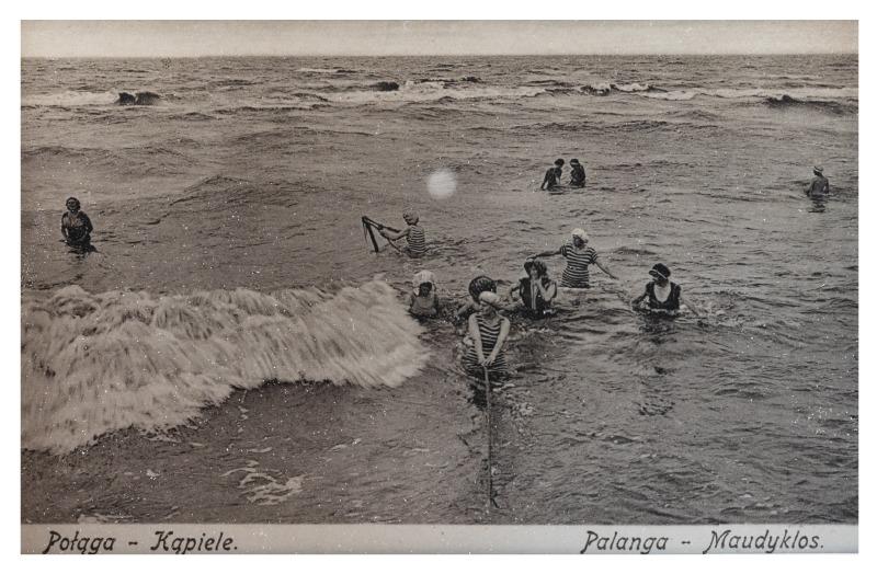 Bathing sites, c. 1914