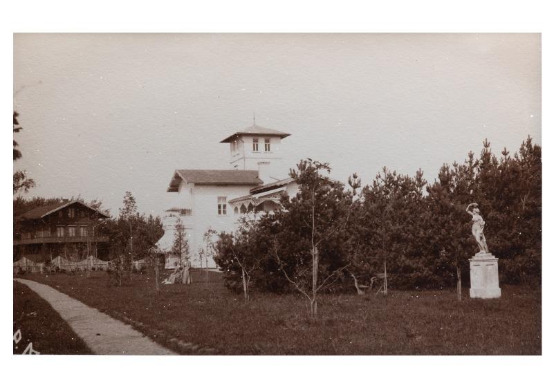"Vila ""Blanche"" (Baltoji), Palanga, maždaug XIX a. pab."