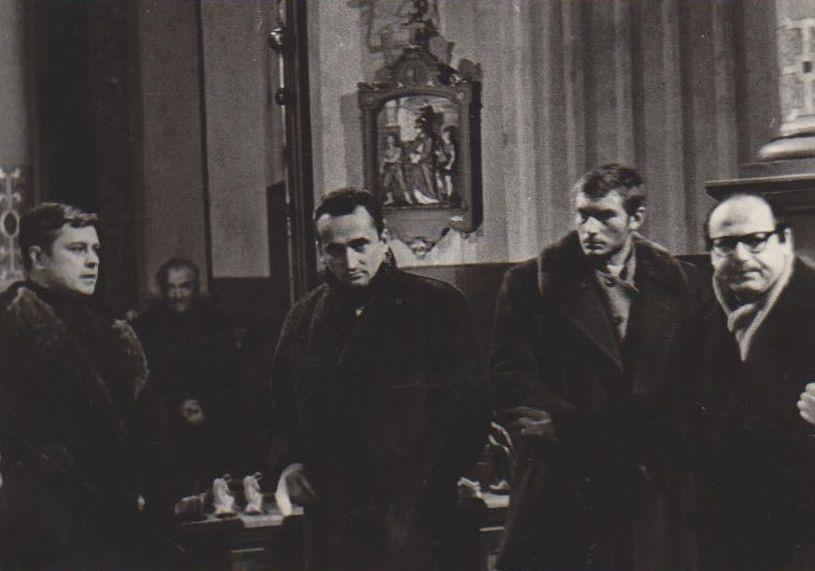 """Filmo """"Šulinys"""" meno vadovas – V. Žalakevičius. Apie 1966 m."""
