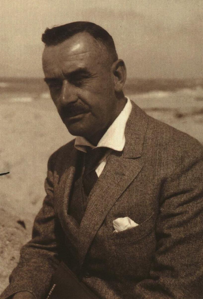 Thomas Mannas. 1927.