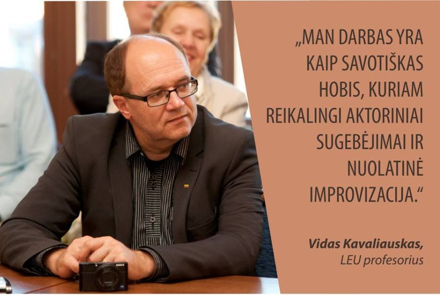 Prof. Vidas Kavaliauskas.