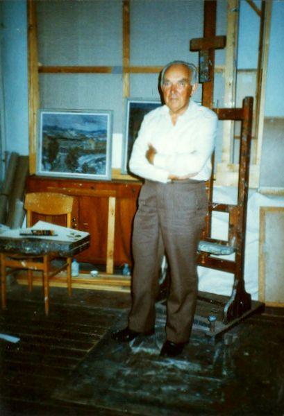 Studijoje. 1989