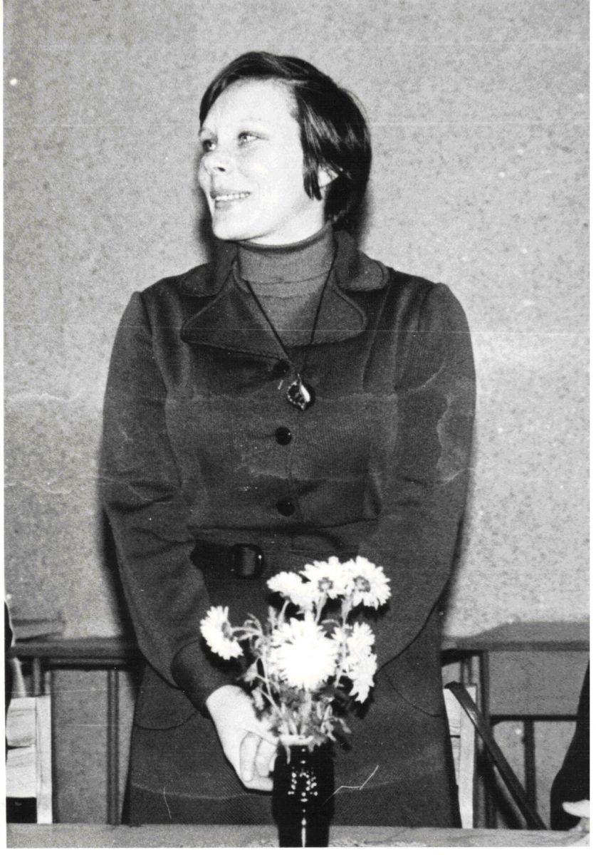 Alma Karosaitė. 1982 m.