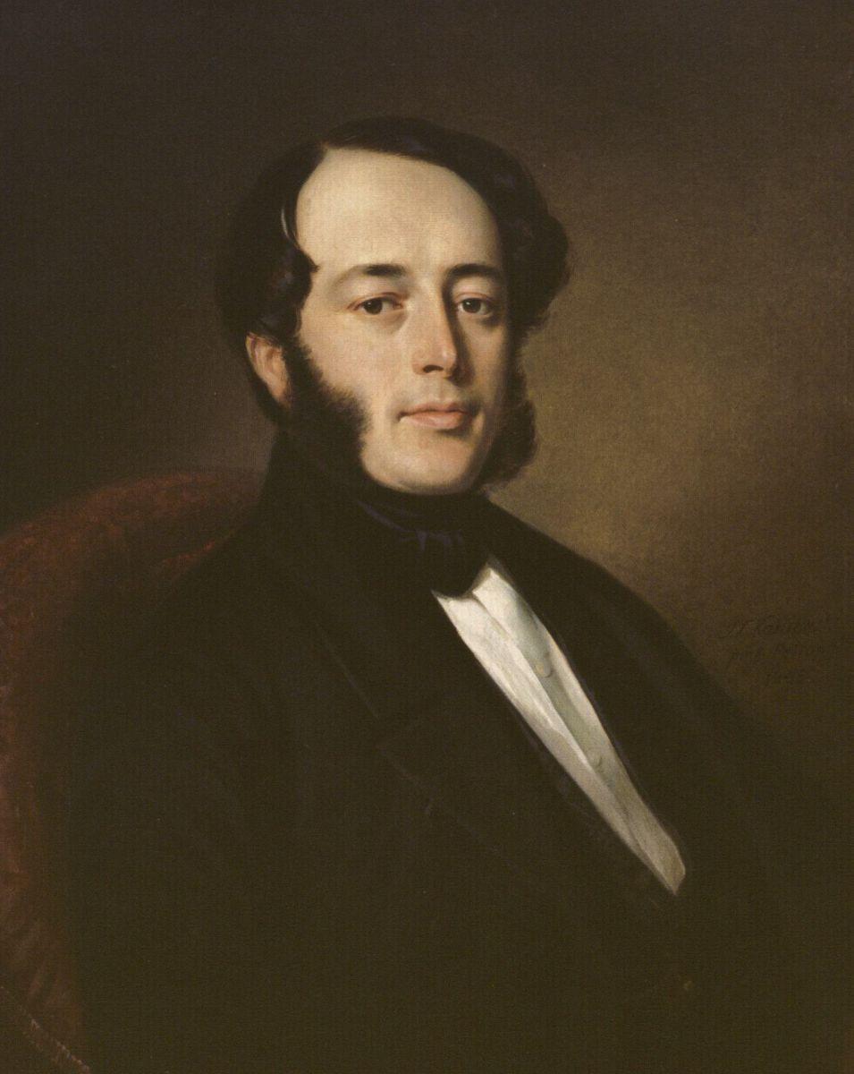 Kunigaikščio Mykolo Kleopo Oginskio sūnaus Irenėjaus Kleopo Oginskio (1808–1863) portretas