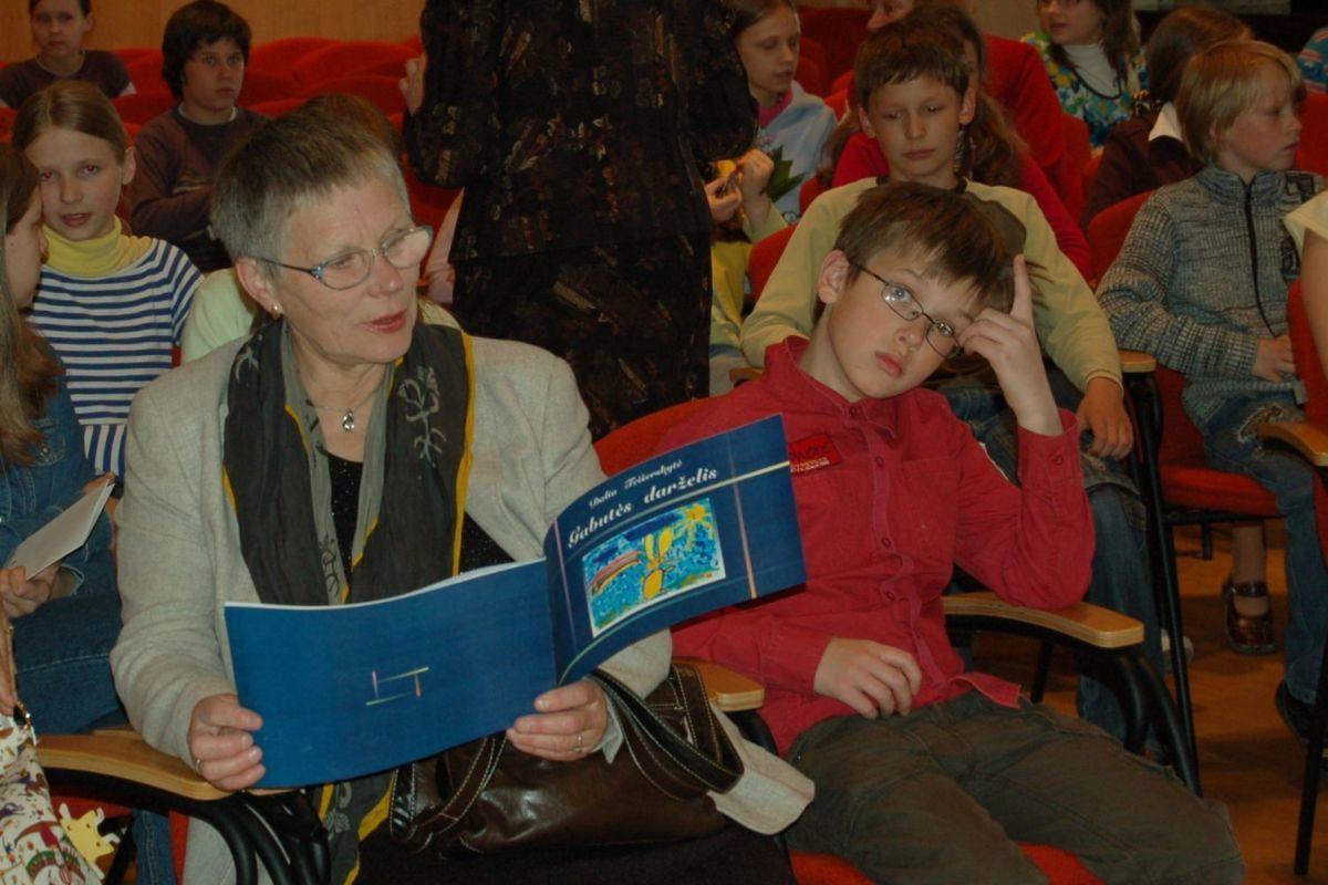 Poezijos pavasaris vaikams Nacionalinėje bibliotekoje. 2008 m.
