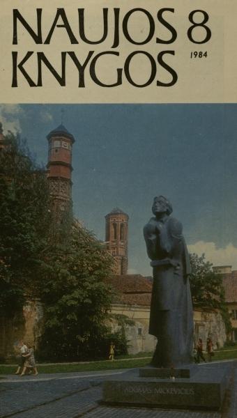 Linčiuvienė D. Balsai iš vaikystės ir tylos // Naujos knygos. 1984, nr. 8, p. 14–15.