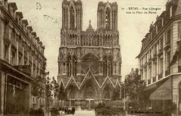 Reimsas (Reims). 1928 m., Prancūzija.