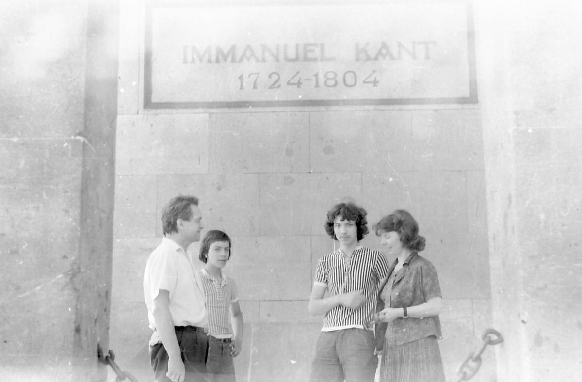 Geniušai Karaliaučiuje apie 1975m.