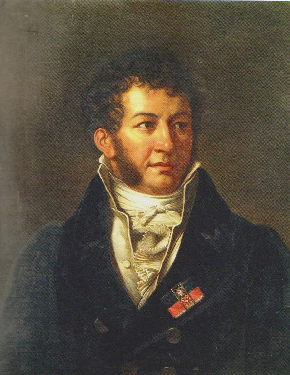 Kunigaikščio Mykolo Kleopo Oginskio portretas.  Dail. F. K. Fabras. 1805–1806 m. Originalas saugomas Lietuvos dailės muziejuje