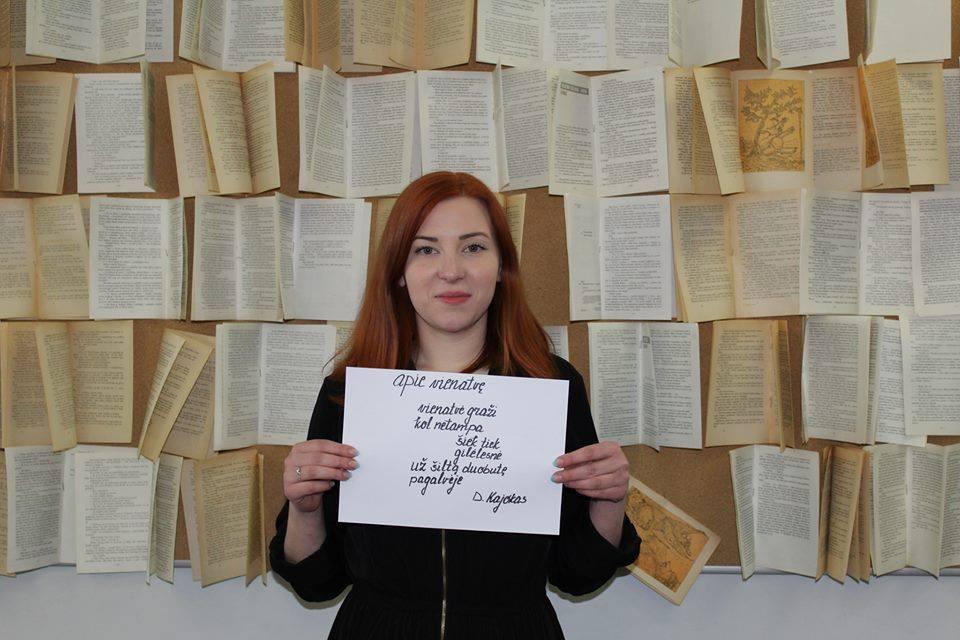 Lietuvių raštijos dienos minėjimas LEU Lituanistikos fakultete. 2016 m.