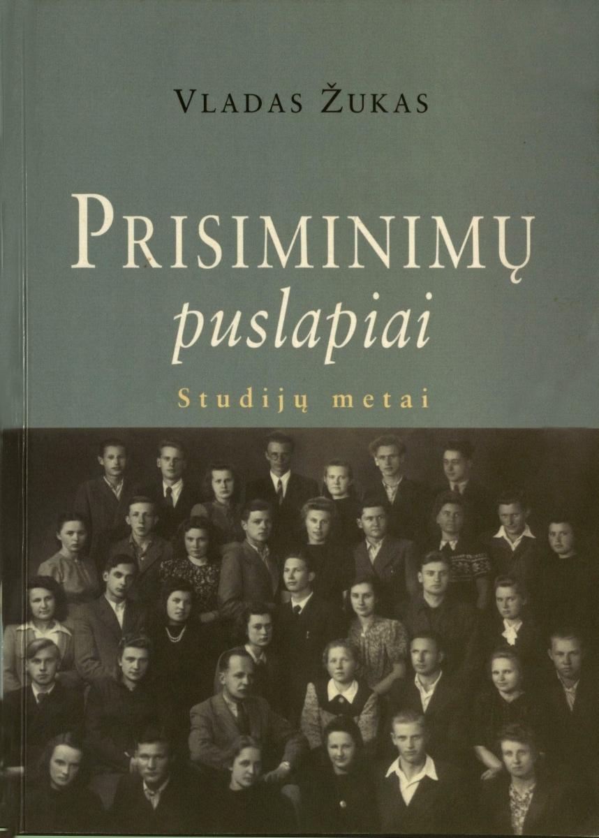 Studijų metai. Vilnius, 1999.