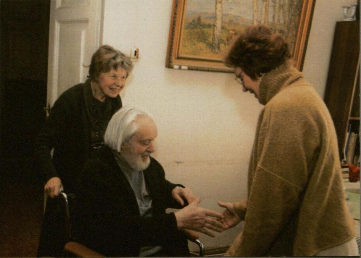 G. Kaukaitė svečiuose pas Ireną ir Rimą Geniušus