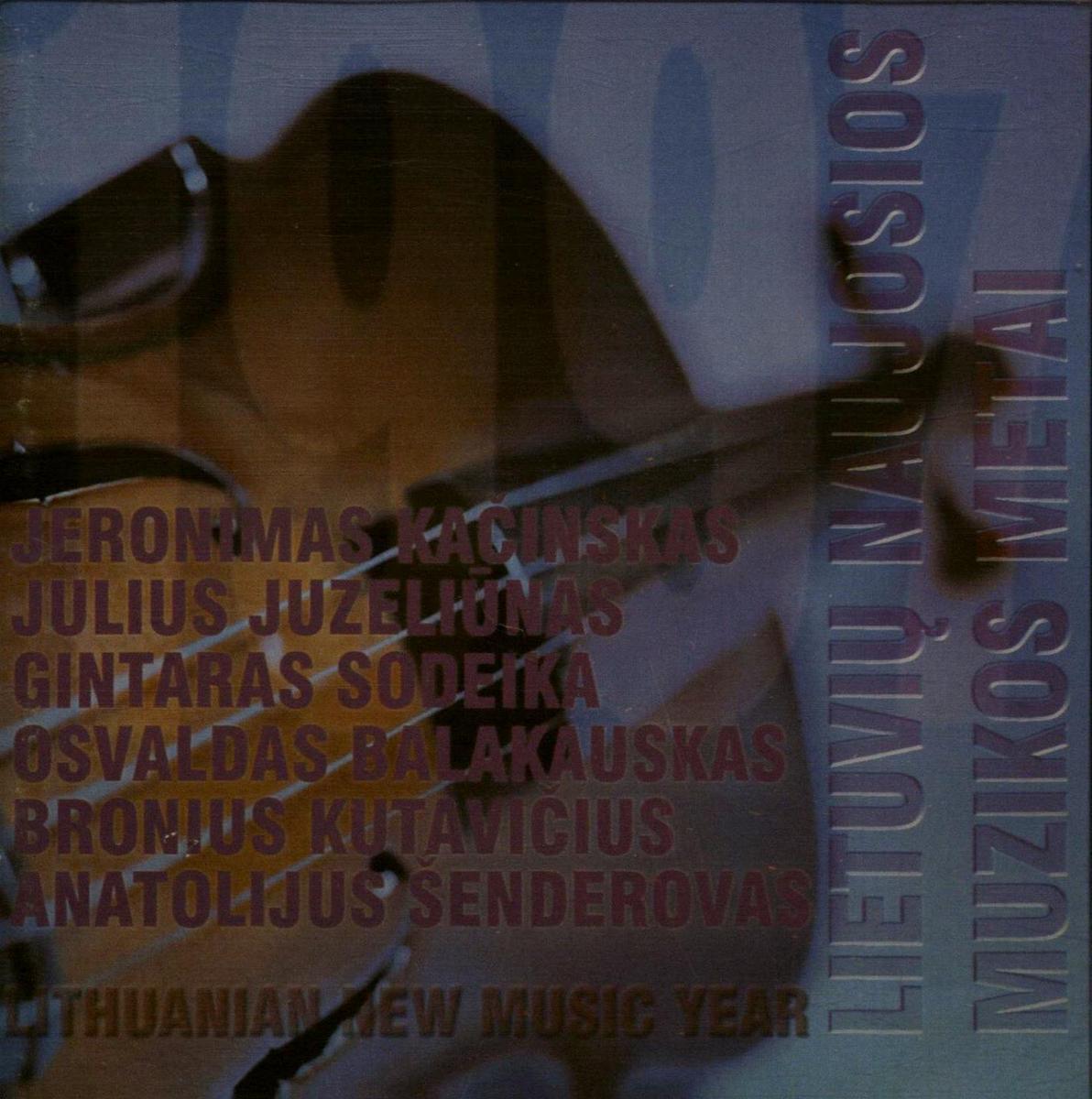 Lietuvių naujosios muzikos metai. 1997