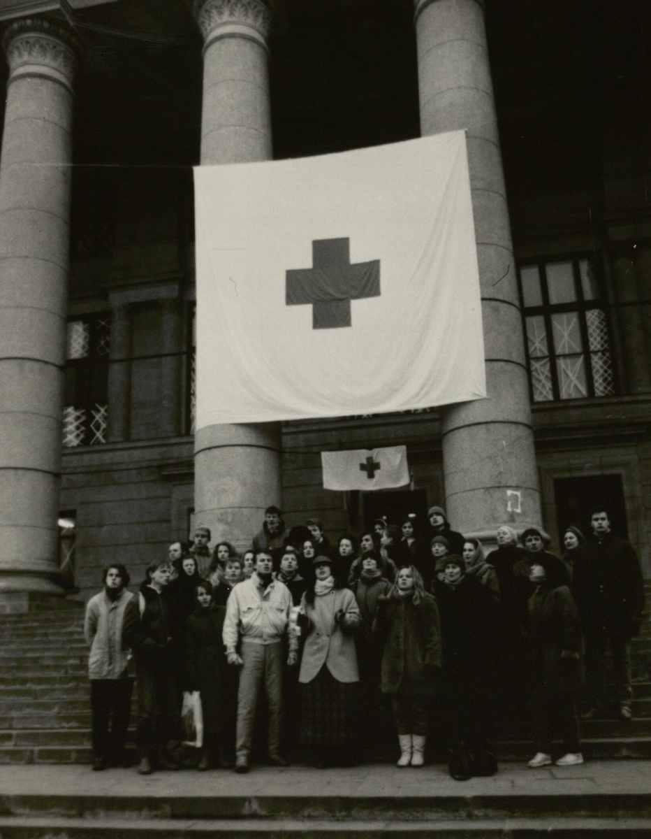 Nacionalinė biblioteka – laikinoji ligoninė