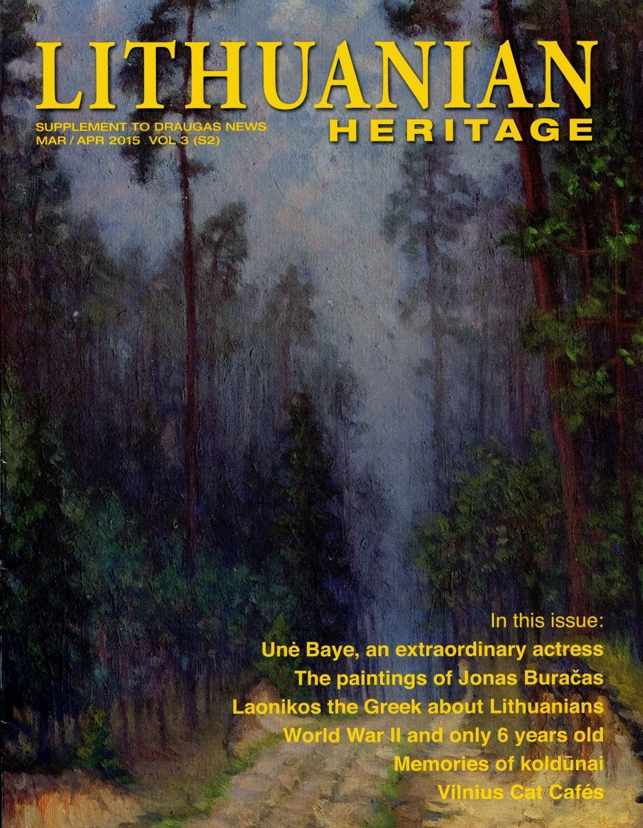"""Lithuanian Heritage"", vol. 3, no. S2 (2015)"