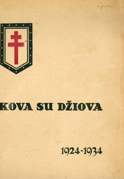 Kova su džiova, 1924–1934: vienkartinis Draugijos kovai su tuberkulioze pirmajam dešimtmečiui paminėti leidinys.