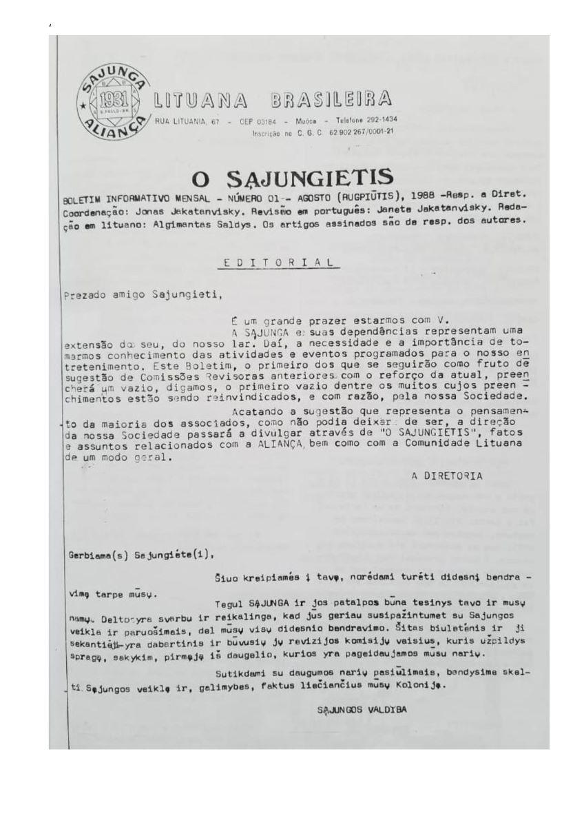 1988 m., Nr. 1