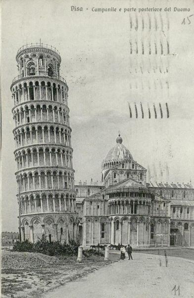 Toskana (Toscana). 1924 m., Italija.