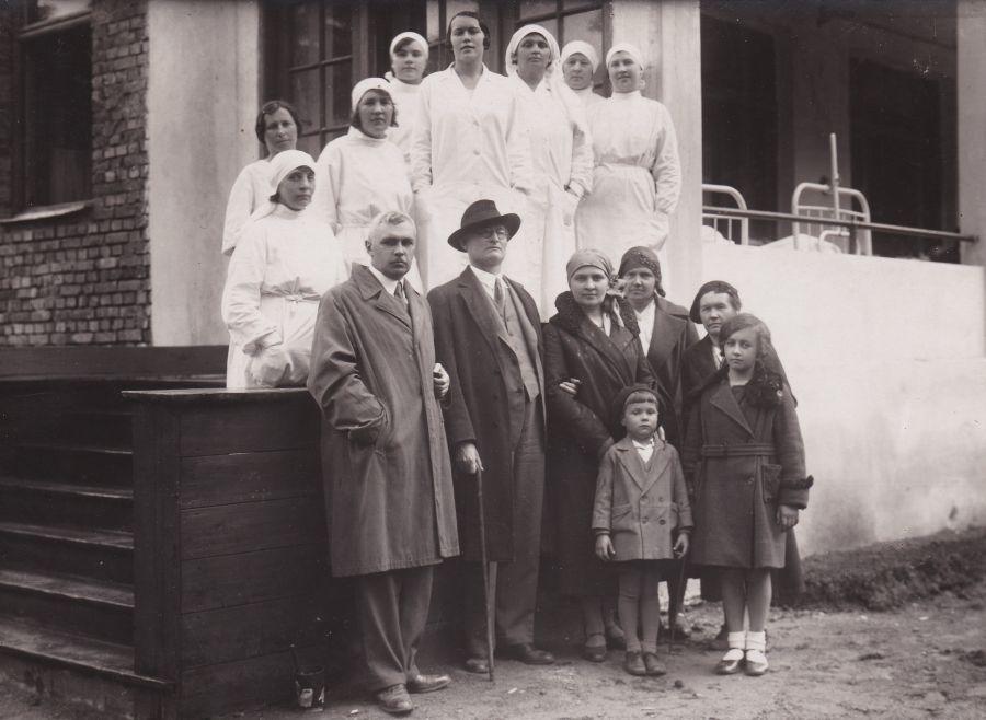 Dr. K. Griniaus vardo sanatorijos Panemunėje atidarymas. 1936 m. birželio 30 d.