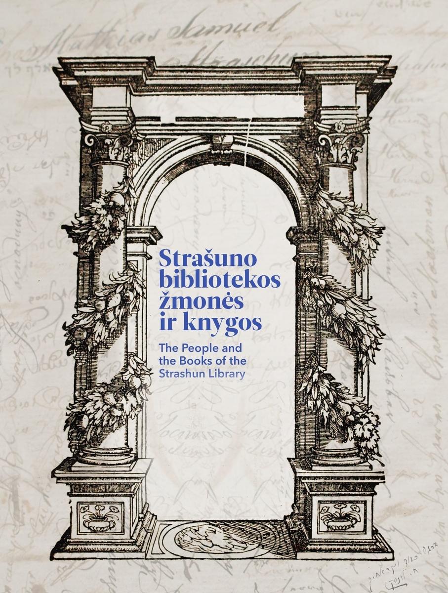 """Parodos """"Strašuno bibliotekos žmonės ir knygos"""" plakatas"""