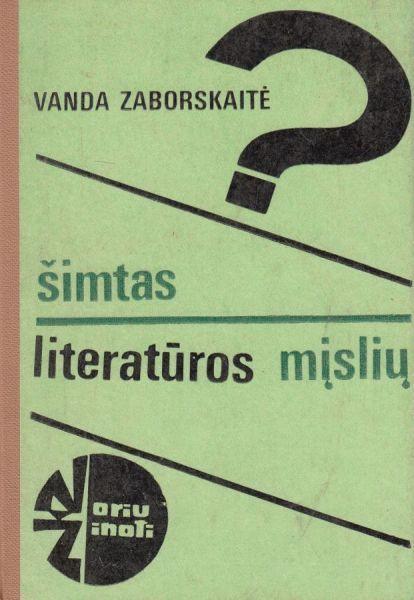 Šimtas literatūros mįslių.