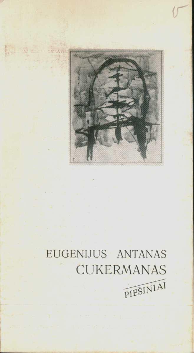 Eugenijaus Antano Cukermano piešiniai. Bukletas