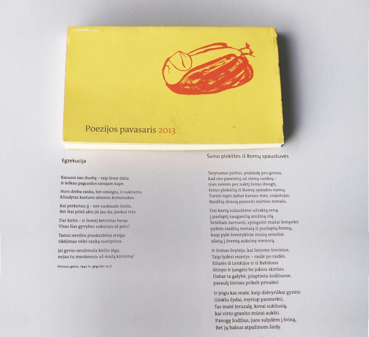 """Vienas pirmųjų Suckeverio poezijos vertimų į lietuvių kalbą – publikacija almanache """"Poezijos pavasaris"""""""