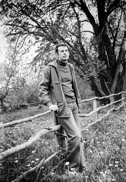 Žvalgantis sodybos prie Alantos. 1975 m.