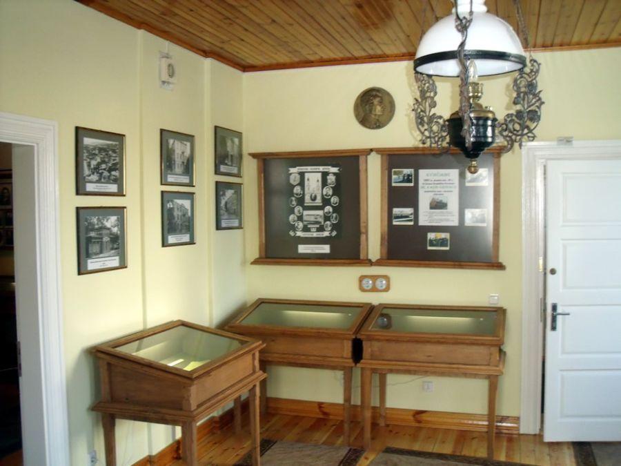 Prezidento K. Griniaus memorialinio muziejaus interjeras.