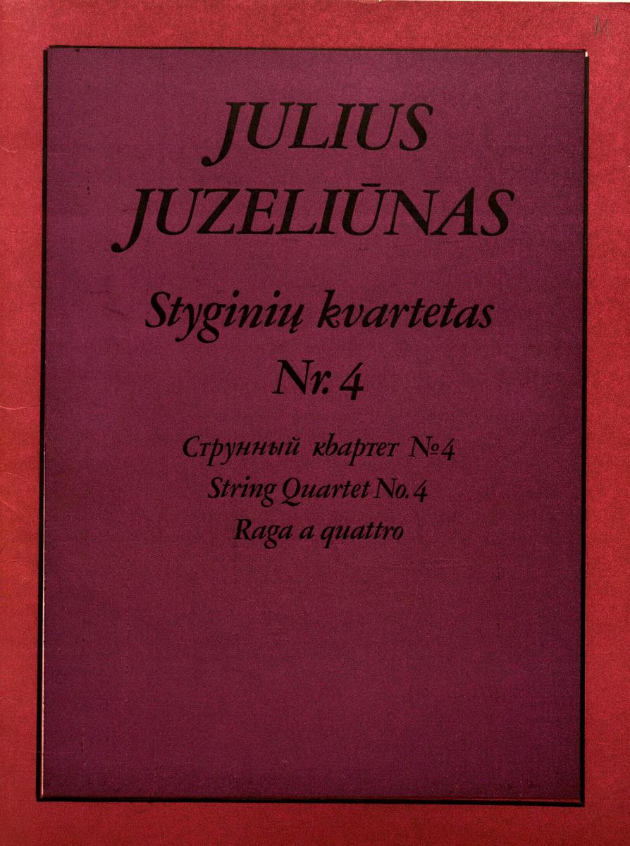 Styginių kvartetas Nr. 4