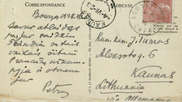 Buržo (Bourges). 1928 m., Prancūzija.