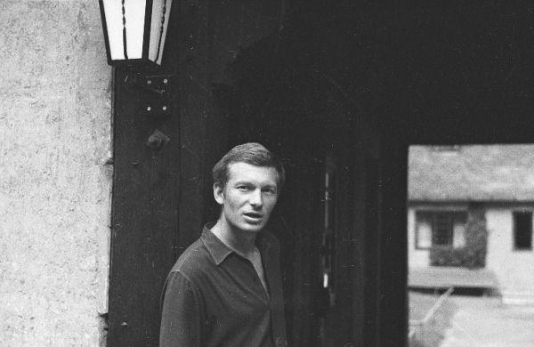 """Zakopanėje (Lenkija), filmuojantis kino juostoje """"Skydas ir kalavijas"""". 1967 m."""