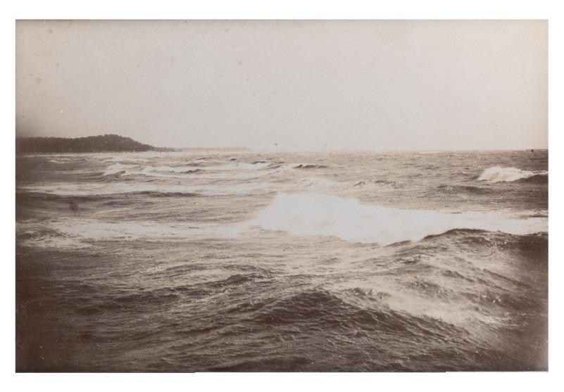 Baltijos jūra ties Palanga, XIX a. pab.–XX a. pradžia.