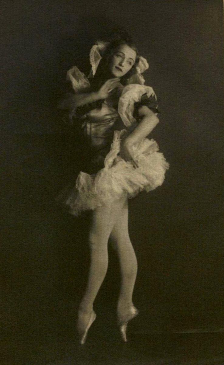Marija Juozapaitytė - Svanilda 1933 m.<br />