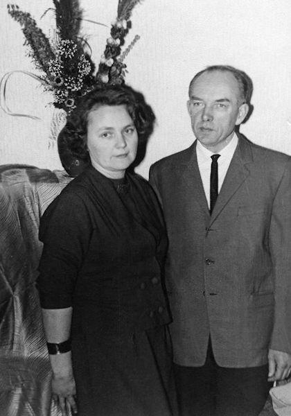 Su žmona Ona. 1961