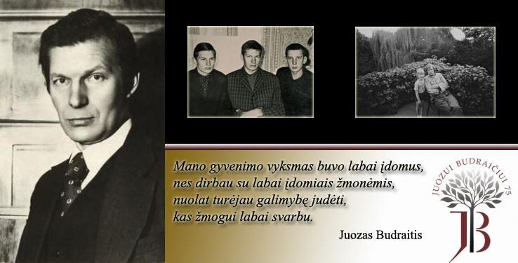 Juozo Budraičio biografija