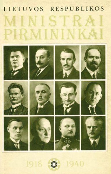 Lietuvos Respublikos ministrai pirmininkai (1918–1940).