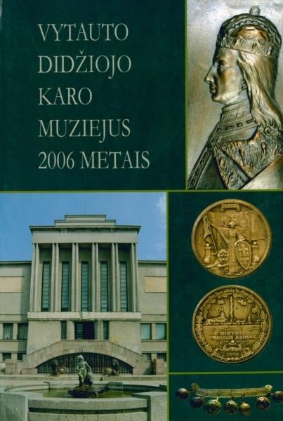 """Veilentienė A. Paroda """"Prezidentui K. Griniui – 140"""" // Vytauto Didžiojo karo muziejus. 2006 metais: almanachas. 2007, p. 173.<br />"""