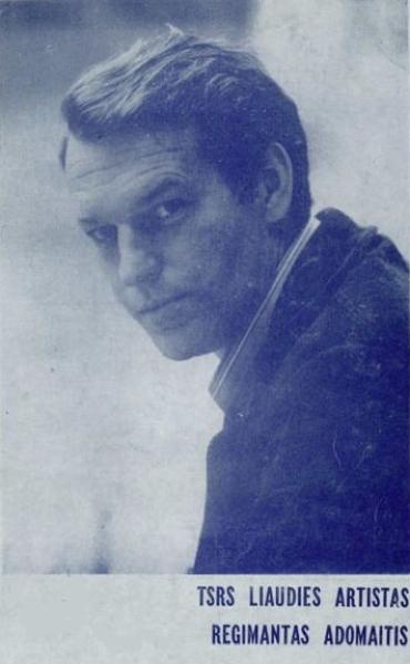 TSRS liaudies artistas Regimantas Adomaitis: bukletas.