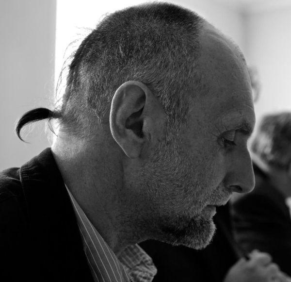 Rašytojas A. Marčėnas. 2015 m.