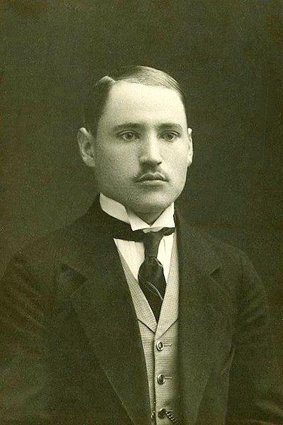 Tėvas Petras Musteikis. Apie 1917 m.