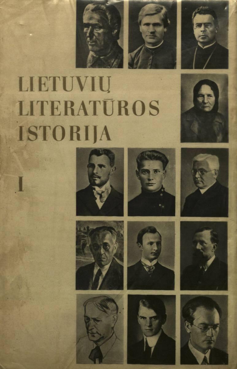 Lietuvių literatūros istorija. Vilnius, 1979.