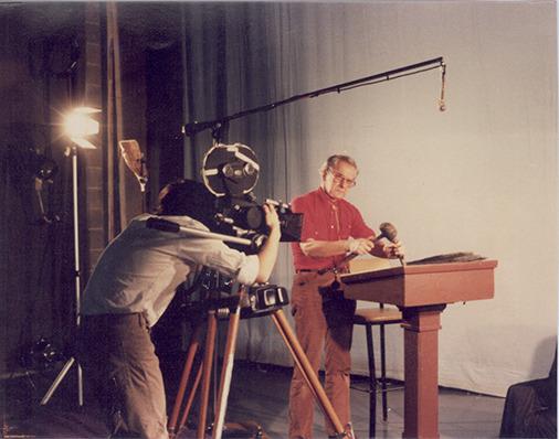 Adolfas Mekas Bard koledžo studento filme. 1986 m.