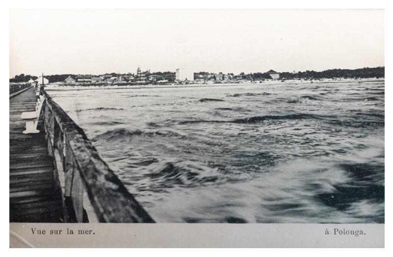 Jūros vaizdas, Palanga, apie 1903 m.
