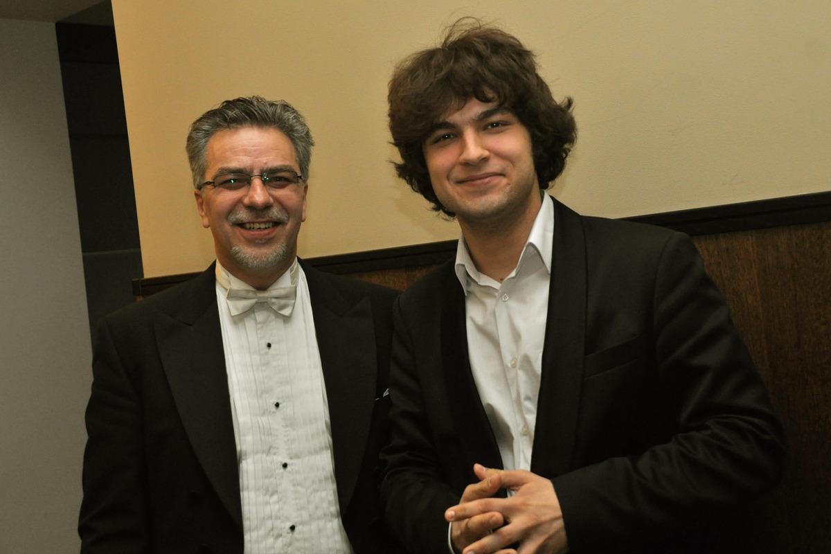 Julius ir Lukas Geniušai. Kauno filharmonija 2011 m.