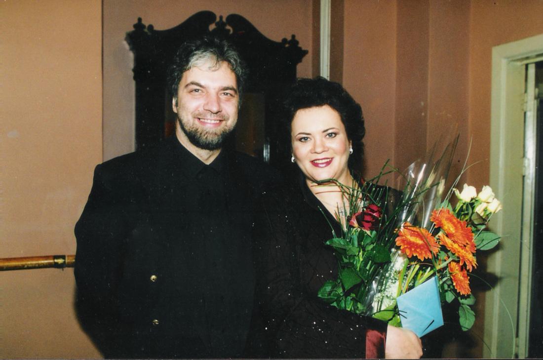 P. Geniušas ir V. Urmana - Urmanavičiūtė