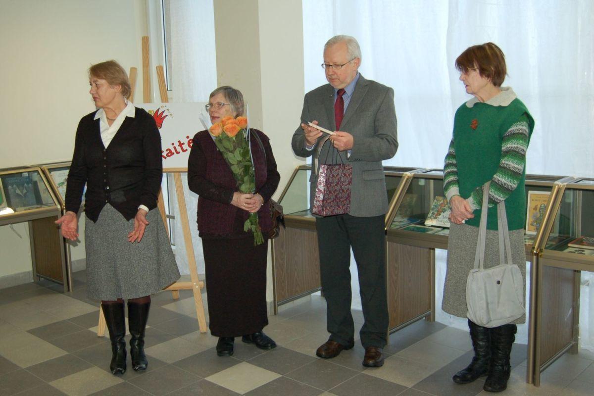 Aldona Augustaitienė, Alma Karosaitė, Kęstutis Urba, Vytautė Žilinskaitė. 2011 m.