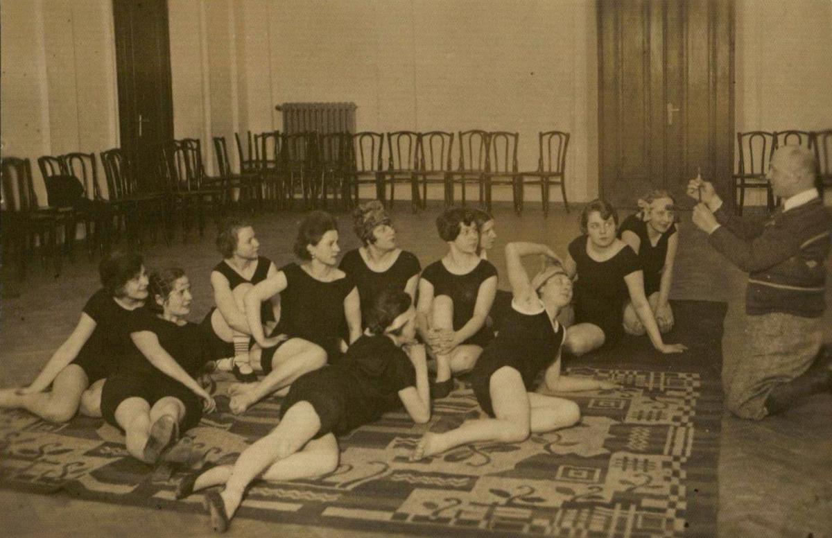 Pavelo Petrovo baleto studija apie 1925 m.